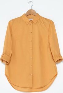Żółta koszula House z długim rękawem w stylu casual