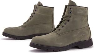 Buty zimowe Timberland ze skóry sznurowane