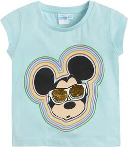 Niebieska bluzka dziecięca Odzież Licencyjna dla dziewczynek