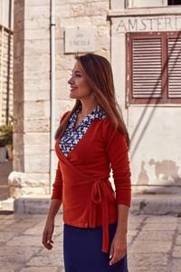 Sweter Style z bawełny