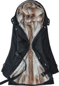 Granatowy płaszcz Yaze