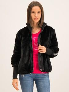 Czarny płaszcz Liu Jo Sport w stylu casual