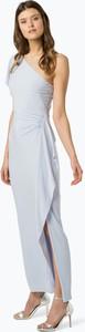Niebieska sukienka Lauren Ralph Lauren maxi bez rękawów w stylu casual