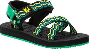 Buty dziecięce letnie Autoryzowany Sklep Jack Wolfskin na rzepy