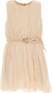 Sukienka dziewczęca Chloe z jedwabiu