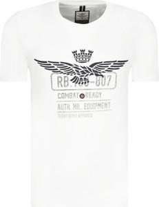 T-shirt Aeronautica Militare z krótkim rękawem