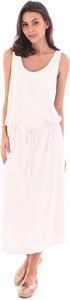 Sukienka Fille De Coton z bawełny maxi