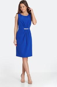 Niebieska sukienka Marcelini