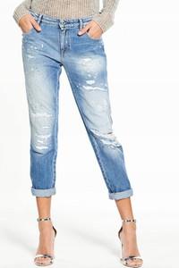 Niebieskie jeansy Replay z jeansu w stylu casual