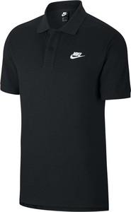 Koszulka polo _nike z krótkim rękawem w sportowym stylu