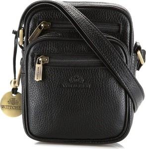 Czarna torebka Wittchen średnia na ramię