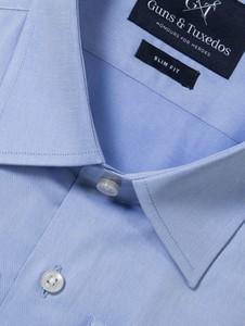 Błękitna koszula guns&tuxedos