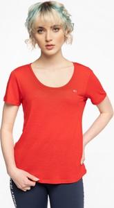 T-shirt Tommy Jeans z okrągłym dekoltem w stylu casual