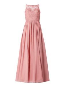 Różowa sukienka Laona bez rękawów