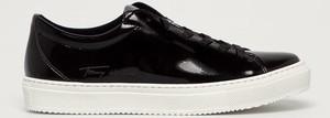 Buty sportowe Tommy Hilfiger ze skóry ekologicznej sznurowane w sportowym stylu