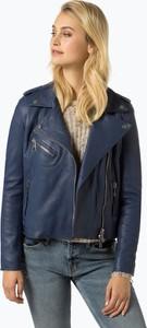 Niebieska kurtka BOSS Casual w stylu casual
