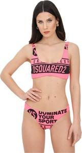 Różowy strój kąpielowy Dsquared2 w stylu casual