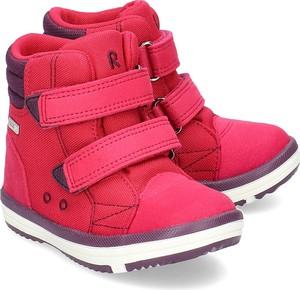 Buty dziecięce zimowe Reima z zamszu