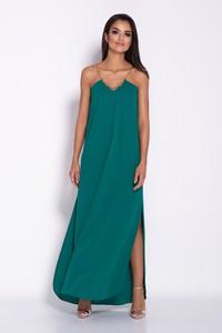 Niebieska sukienka Dursi maxi
