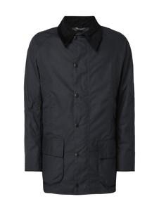 Czarna kurtka Barbour z bawełny