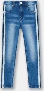 Niebieskie jeansy dziecięce Sinsay