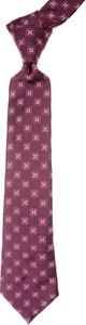 Fioletowy krawat Moschino