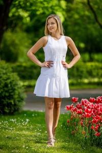 Sukienka B&b Studio z tkaniny bez rękawów mini