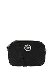 Czarna torebka Guess ze skóry ekologicznej
