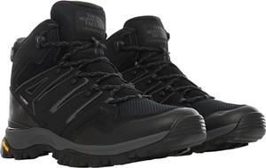 Buty sportowe The North Face z płaską podeszwą ze skóry ekologicznej