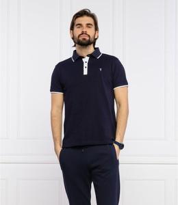 Koszulka polo Trussardi Jeans w stylu casual z krótkim rękawem