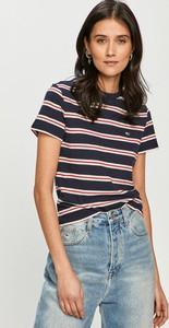 T-shirt Tommy Jeans z krótkim rękawem z bawełny