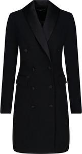 Czarna sukienka Guess by Marciano mini w stylu casual z długim rękawem