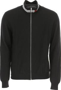 Czarny sweter Dsquared2 z bawełny