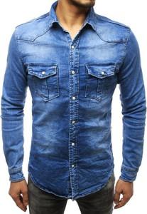 Koszula Dstreet z jeansu z długim rękawem