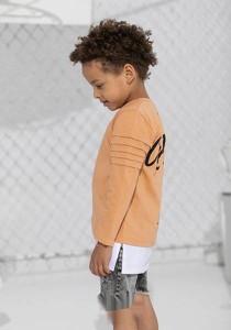 Pomarańczowa koszulka dziecięca Mashmnie