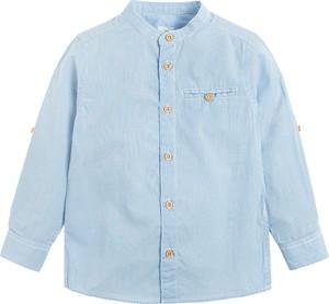 Koszula dziecięca Cool Club dla chłopców z lnu