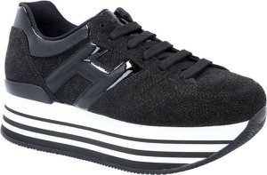 Sneakersy Hogan sznurowane na platformie