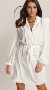 Sukienka Renee z dekoltem w kształcie litery v z długim rękawem