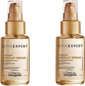 L'Oreal Paris Loreal Absolut Repair Lipidium Serum | Serum do włosów 50ml x2 - Wysyłka w 24H!