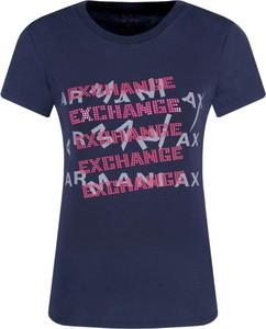 T-shirt Armani Jeans z krótkim rękawem w stylu casual
