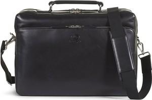 Czarna torba Howard London ze skóry