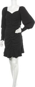 Czarna sukienka Soft Rebels z dekoltem w kształcie litery v