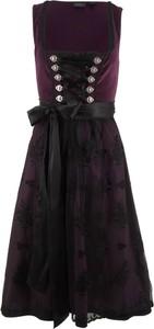 Czarna sukienka bonprix bpc bonprix collection midi