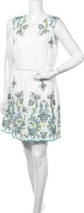 Sukienka City Studio mini bez rękawów z okrągłym dekoltem