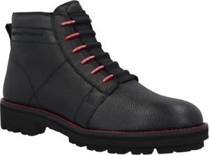 Buty zimowe Emporio Armani sznurowane