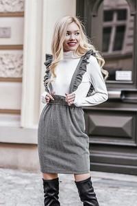 Spódnica Chiara Poland z bawełny