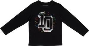 Czarna bluzka dziecięca Stella McCartney z bawełny dla dziewczynek
