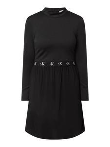 Czarna sukienka Calvin Klein w stylu casual mini