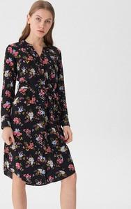 Sukienka House w stylu casual koszulowa z długim rękawem