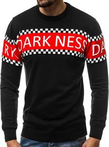 Czarny sweter BREEZY z bawełny